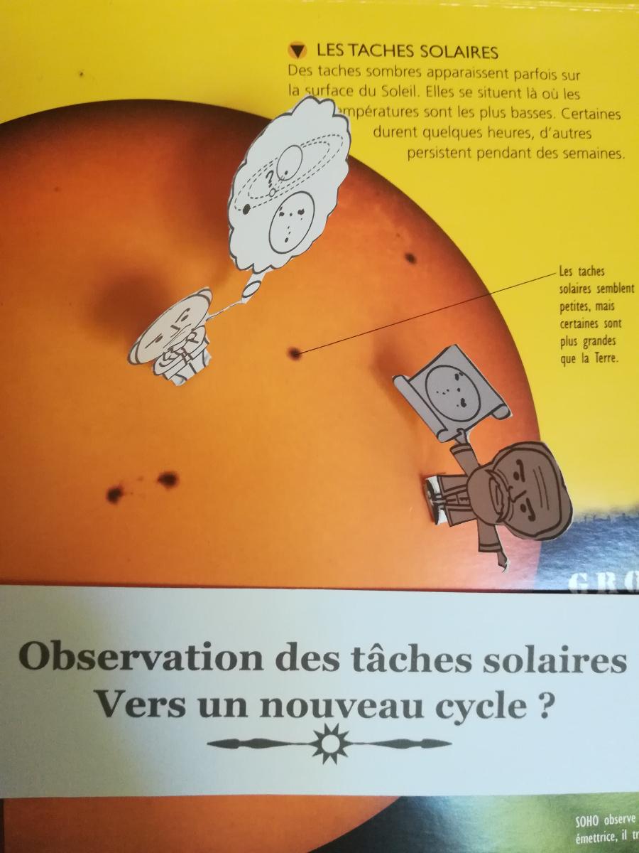 Observation des taches solaires